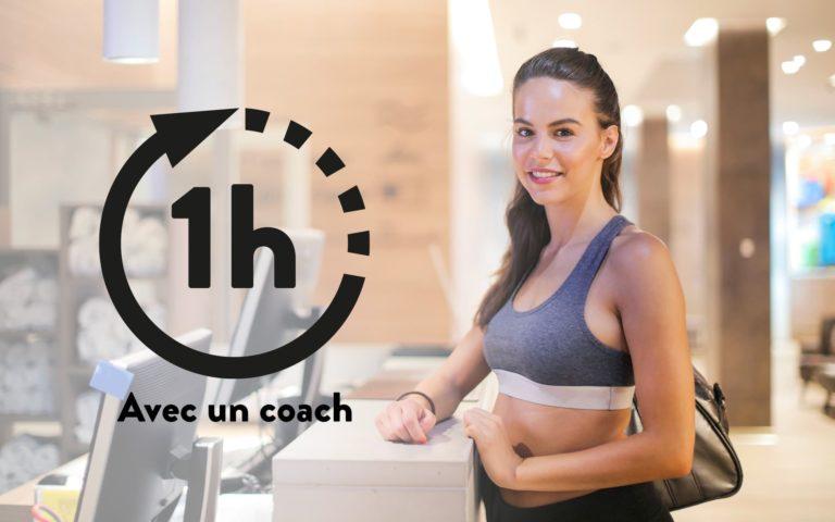 1 heure avec un coach