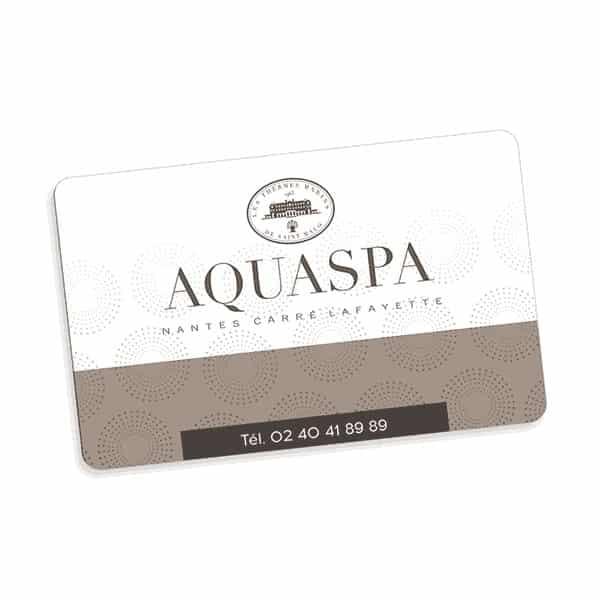 Le chèque cadeau AQUASPA