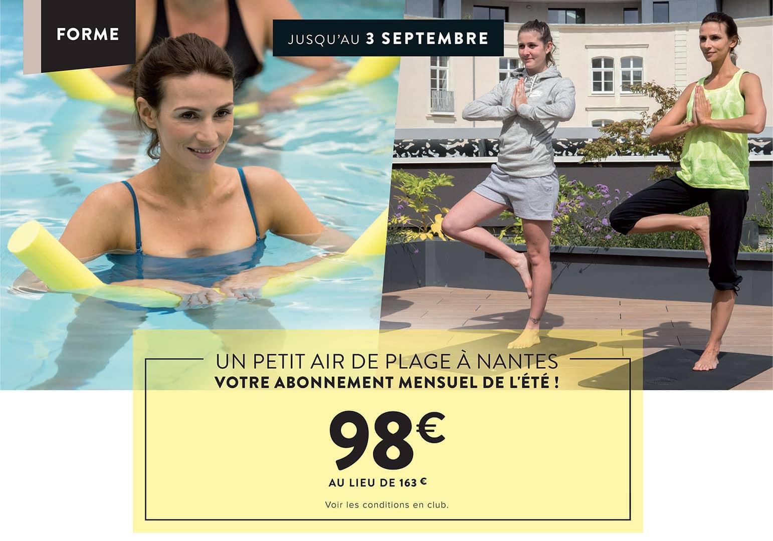 Abonnement de l'été Aquatique et Fitness