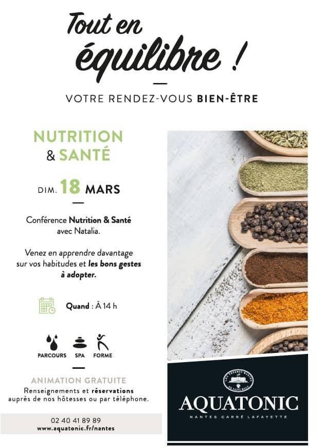 Conférence Nutrition à Nantes