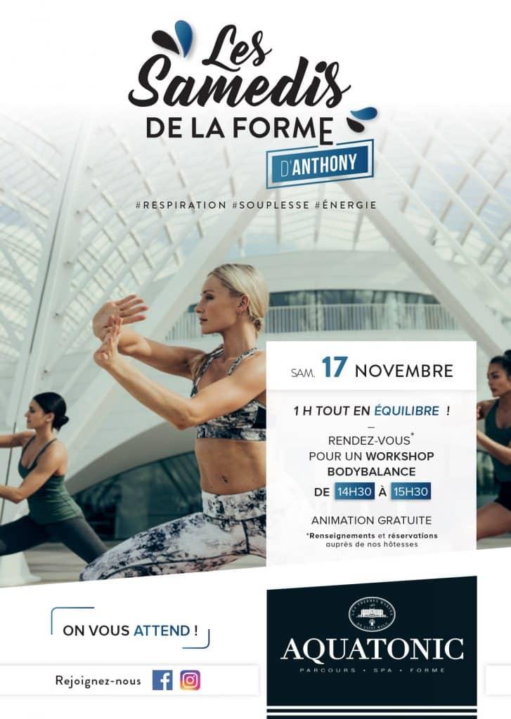 Samedis de la forme a Nantes