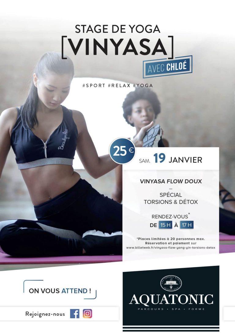 Stage de yoga à Nantes