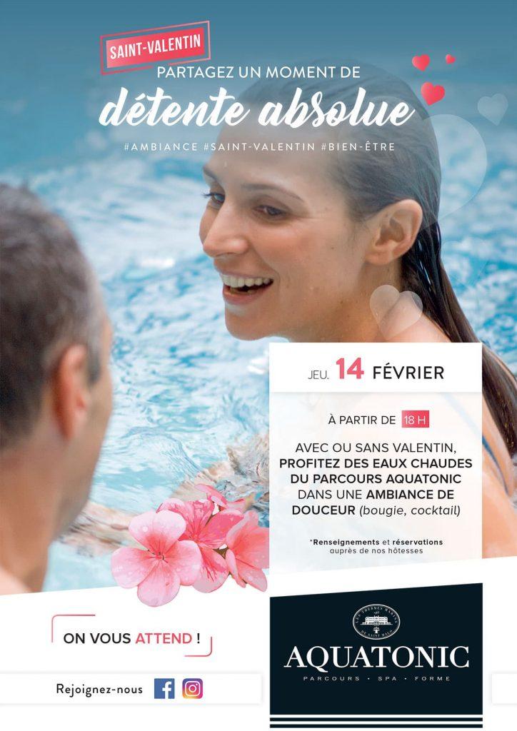 Aquatonic pour la saint Valentin à Nantes