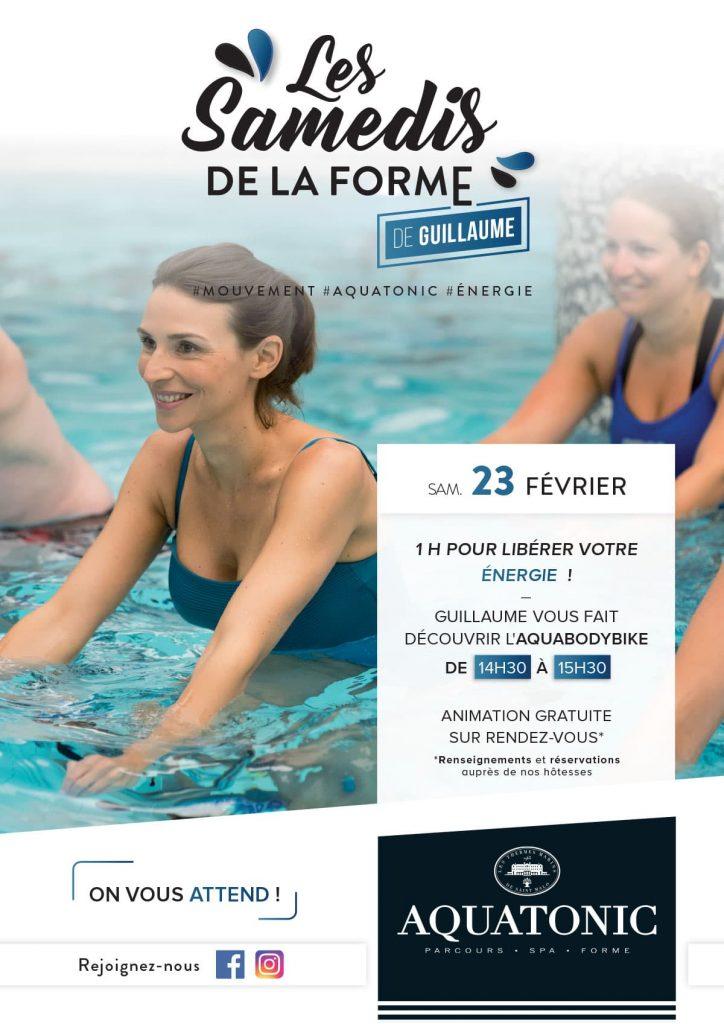 Les samedis forme à Nantes : AquabodyBike