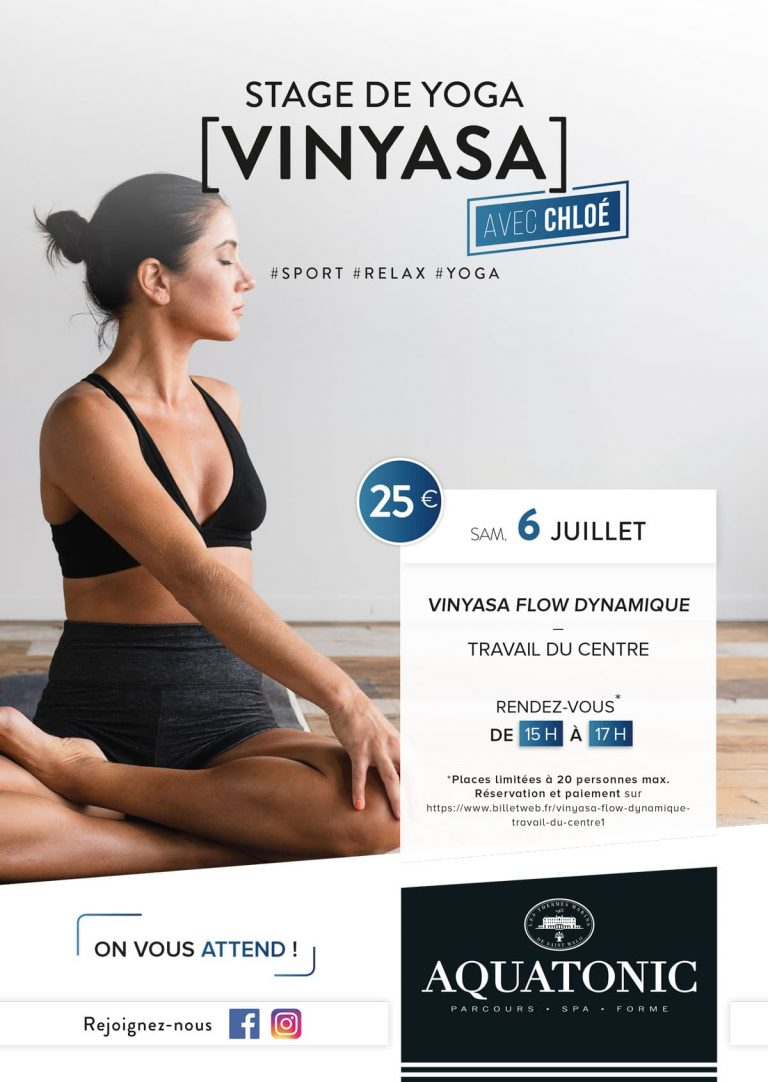 Stage de Yoga le 6 juillet à Nantes