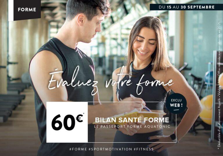Bilan santé forme à Nantes