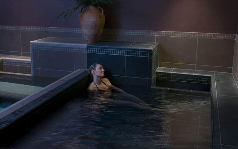 Espace bien-etre : bain-chaud / froid