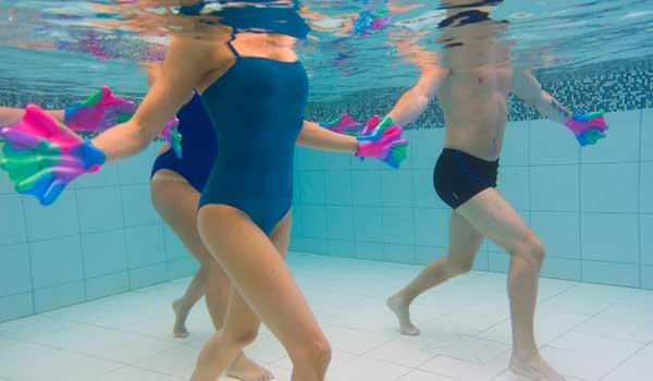 fitness en piscine