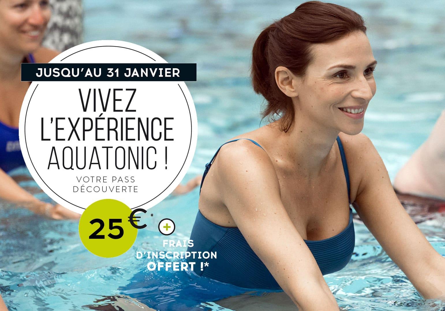 Vivez l'expérience Aquatonic ! Semaine Experience