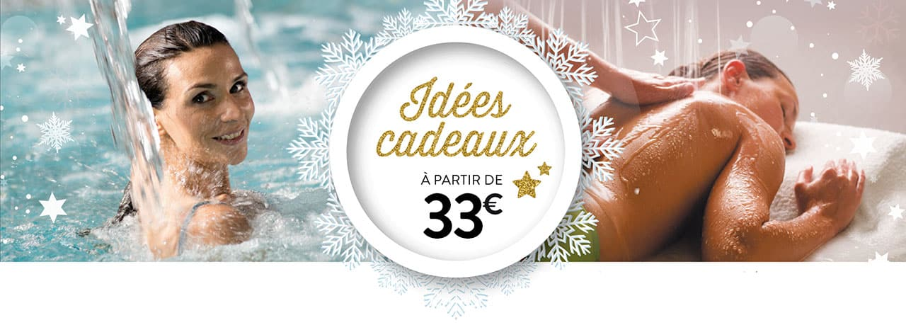 Idée cadeau de Noel au Spa Aquatonic Paris Val d'europe