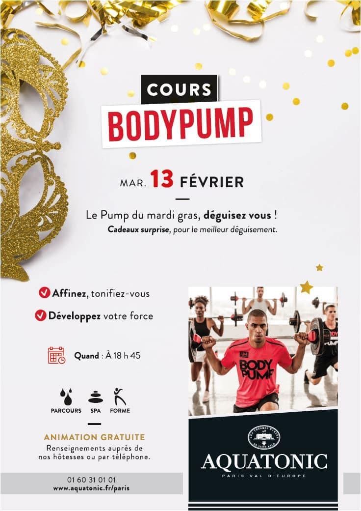 Cours bodypump à Paris