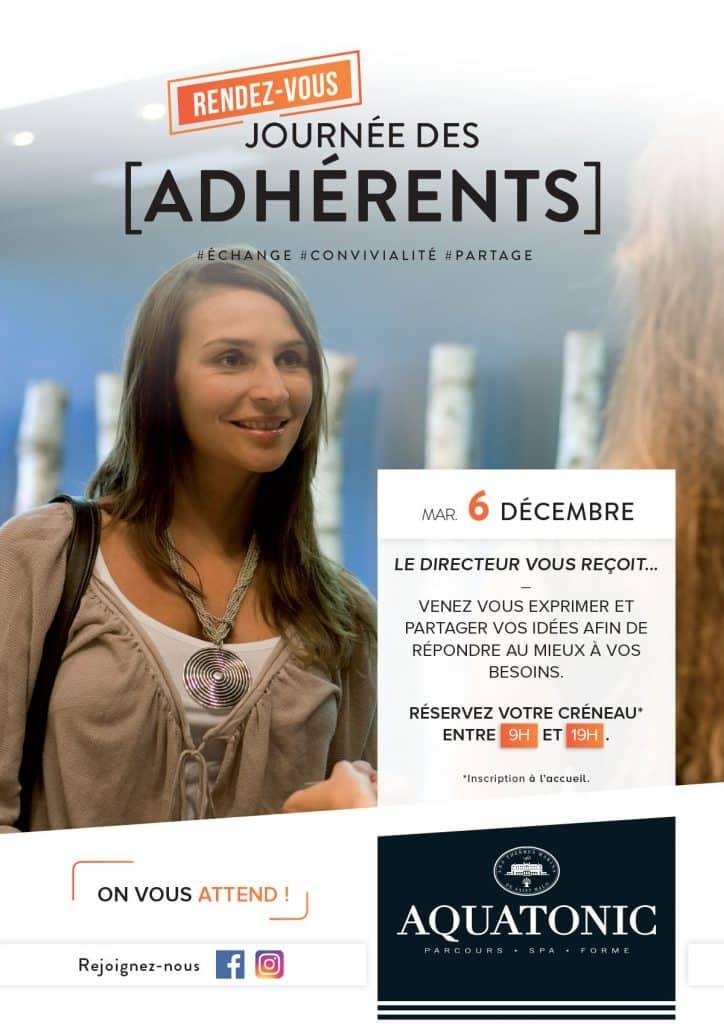 Journées des Adhérents de l'Aquatonic de Paris