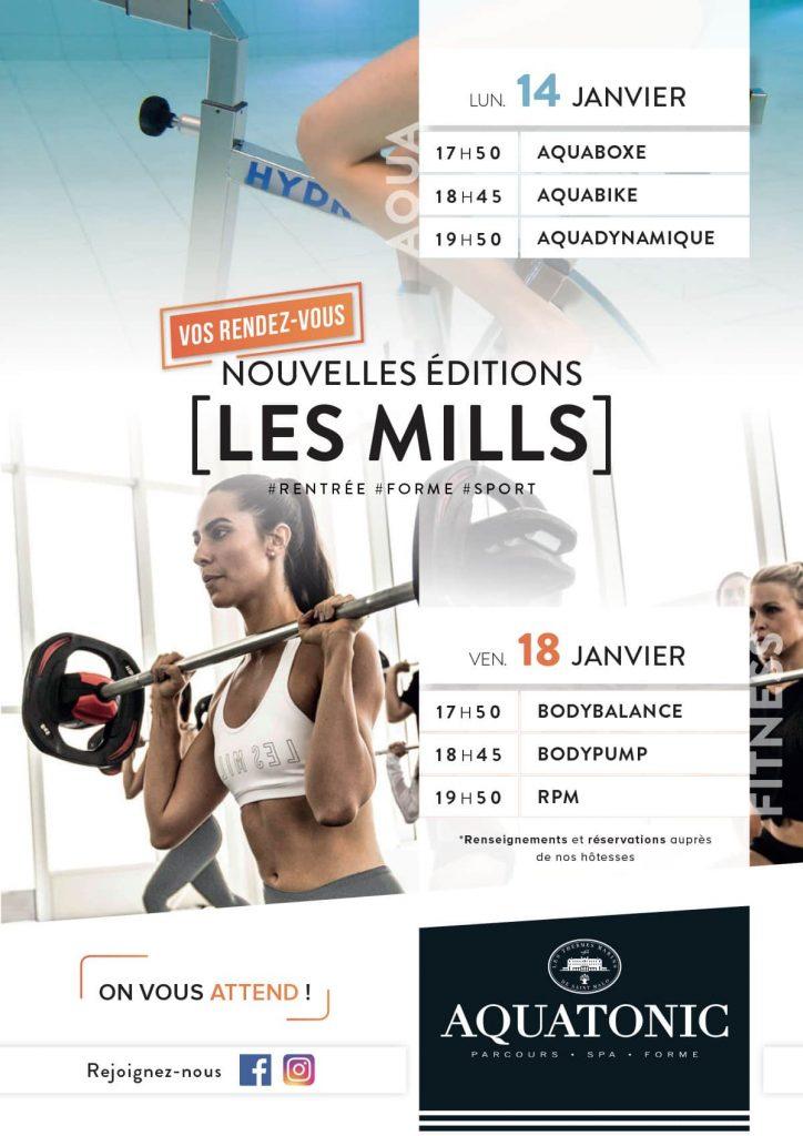 Nouvelle edition Les Mills