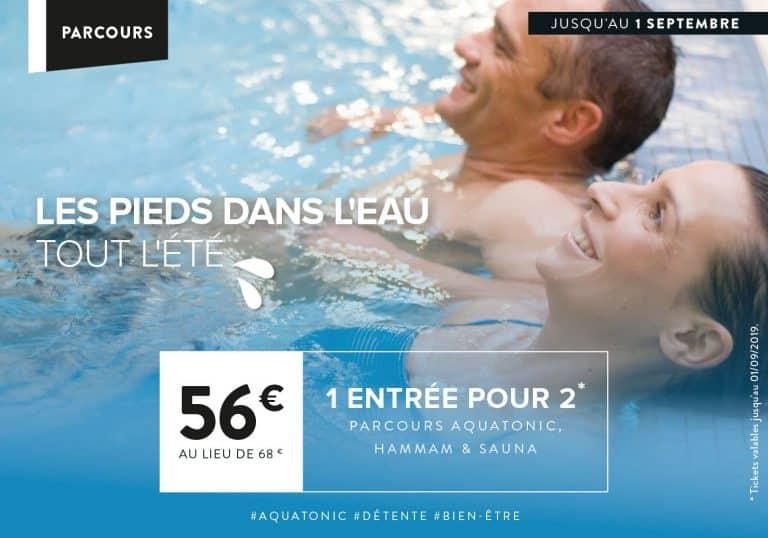 Offre Aquatonic à Paris Val d'Europe