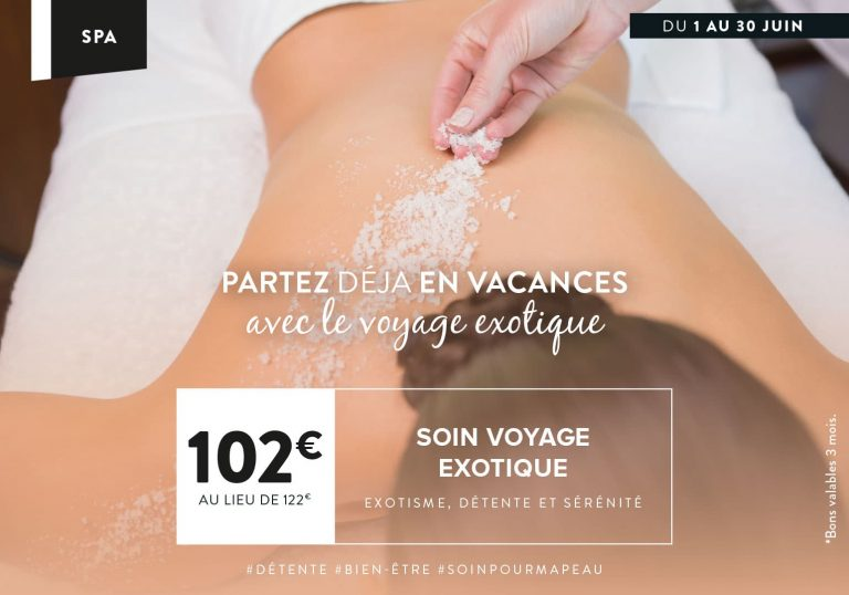 Sois Spa du Mois à Paris Montévrain
