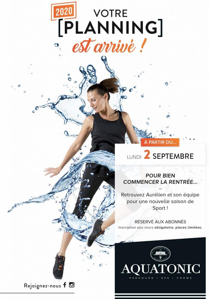 Nouveau planning des cours Sport à Montevrain