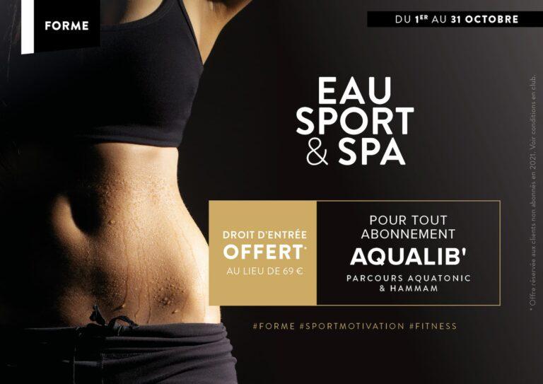 Promo Abonnement Sport à Montevrain