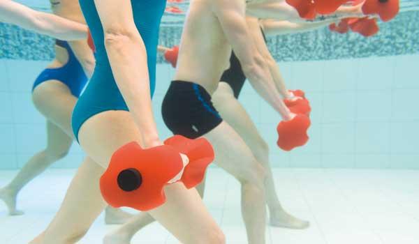 boxe en piscine
