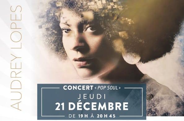 Concert à l'Aquatonic de Rennes : Audrey Lopes