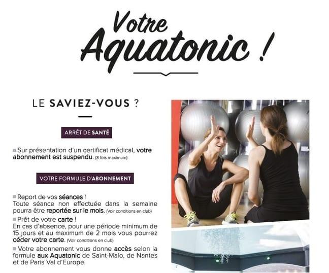 Votre aquatonic