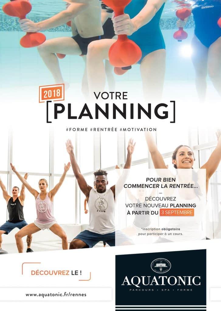 Nouveau Planning des cours