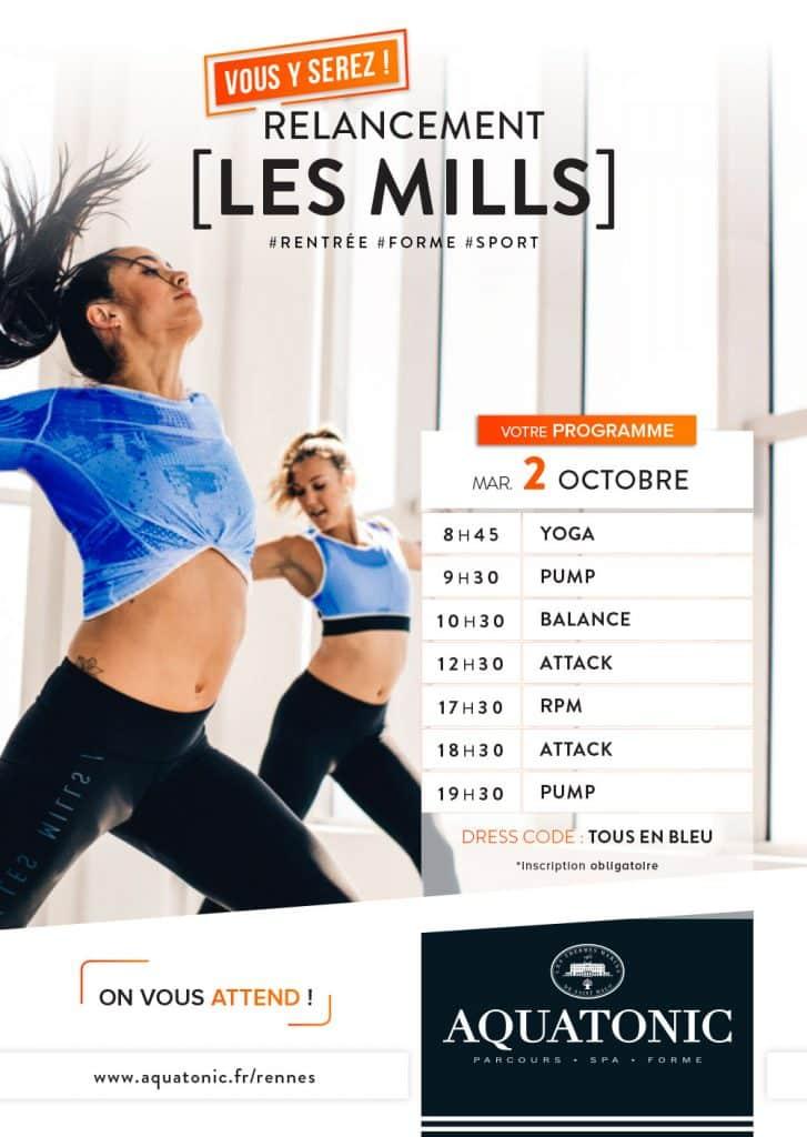 Nouveau Cours LEs Mills à Rennes