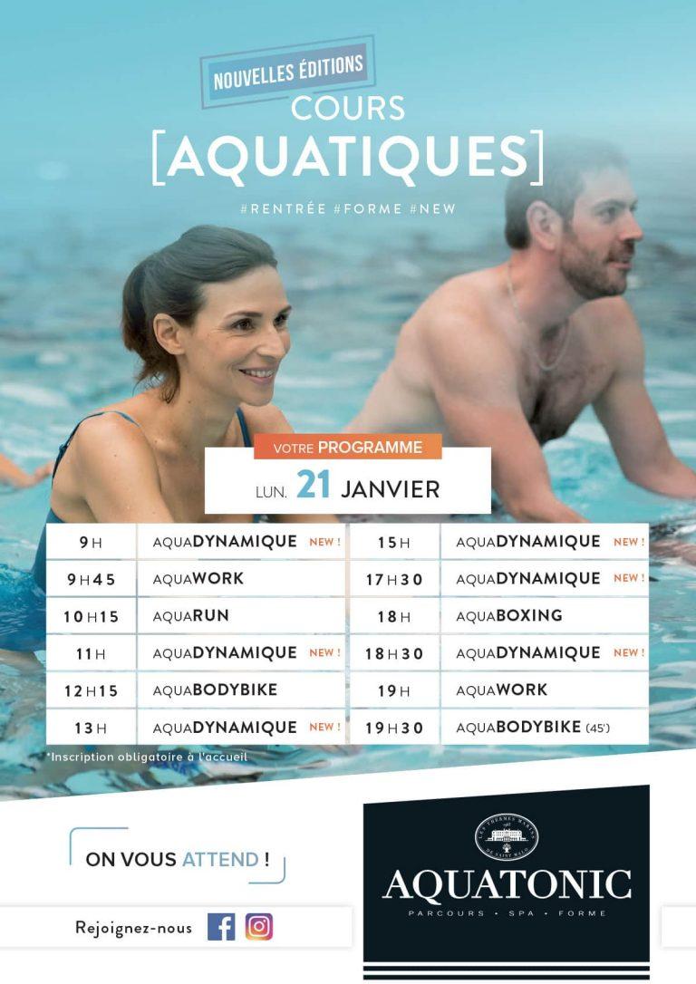 Cours Aquatiques