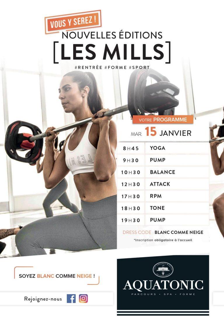 Relancement Les Mills à Rennes