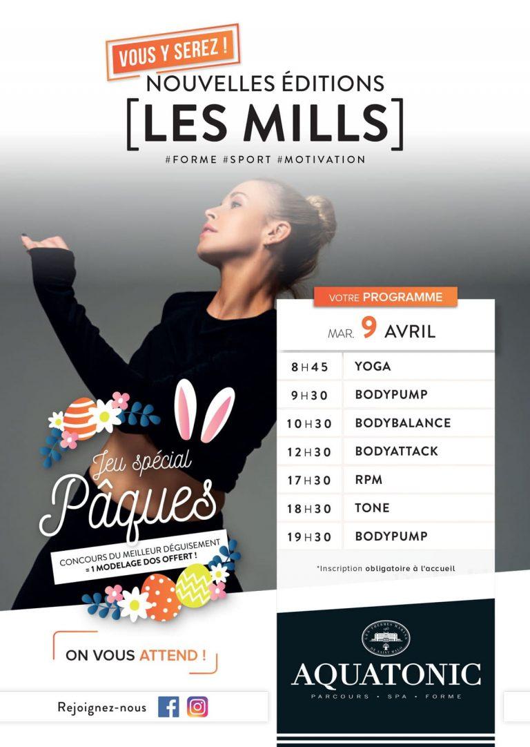 Nouvelle edition Les Mills à Rennes