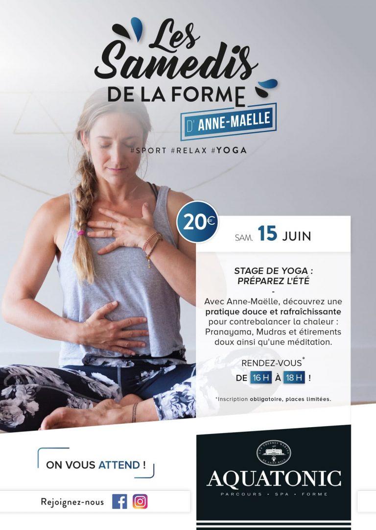 Stage de Yoga le 15 Juin à Rennes