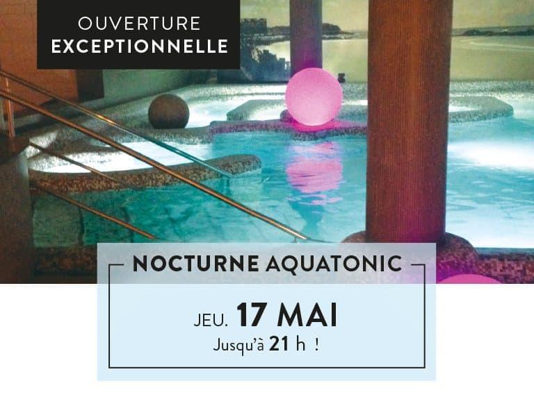 Nocturne aquatonic St-Malo