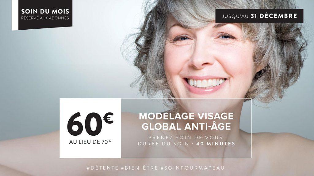 Soin global anti âge