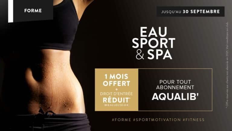 Offre Abonnement Sport à Saint-Malo : 1 mois offert jusqu'au 30 septembre