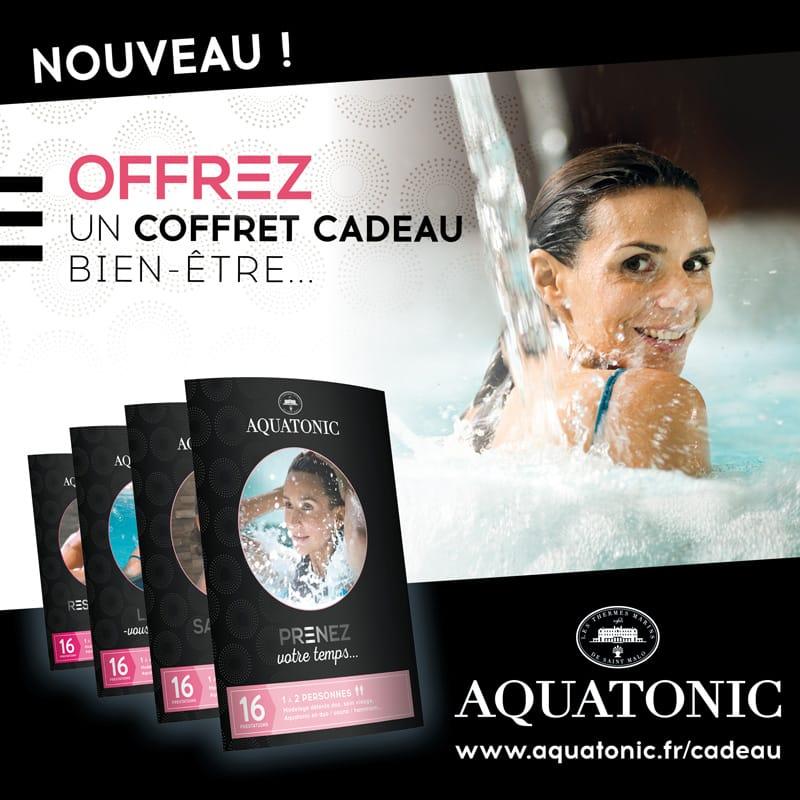 Offrir un cadeau Aquatonic à Saint-Malo, Rennes, Nantes ou Paris