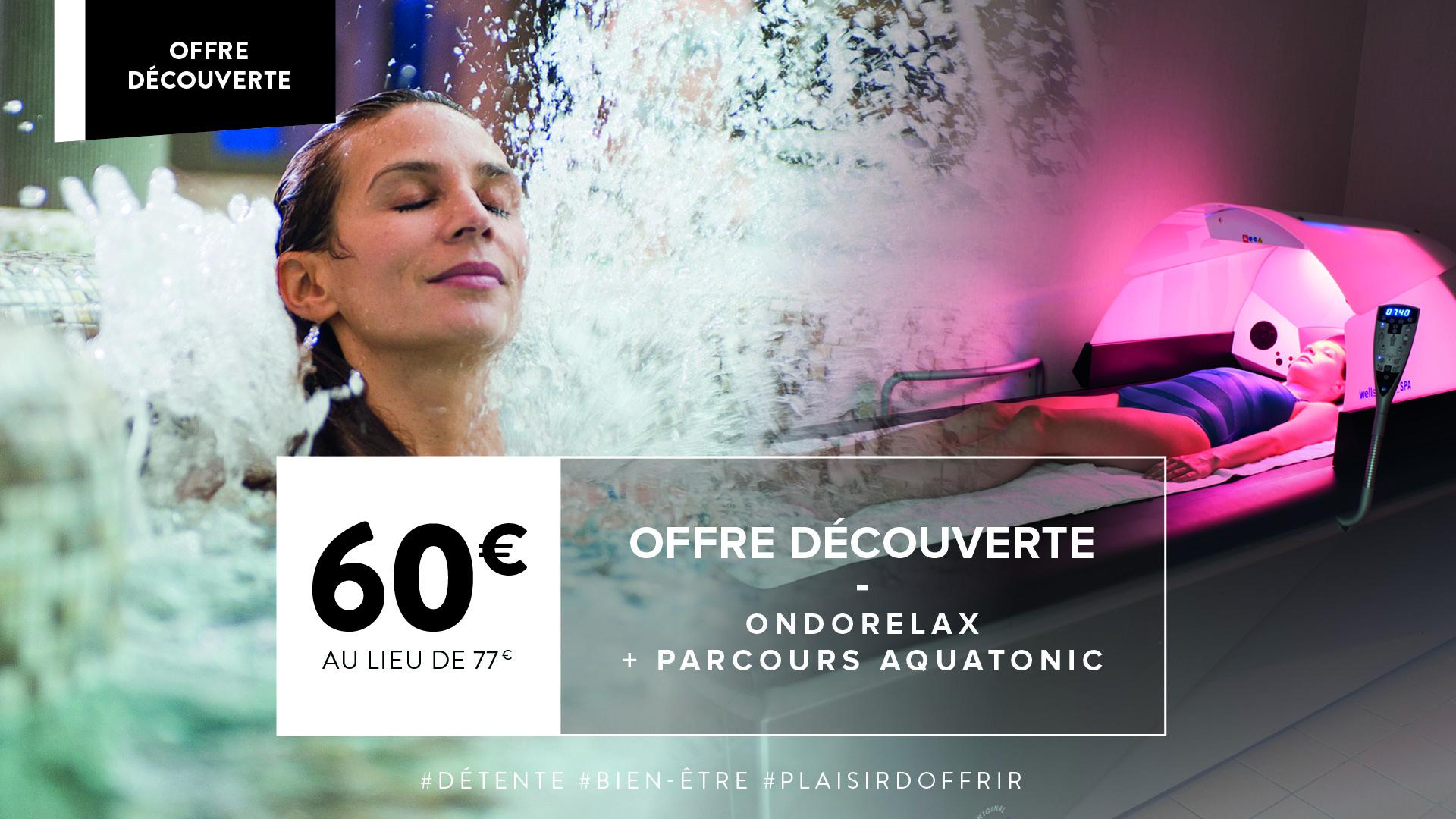 Offre Découverte Ondorelax + Parcours Aquatonic 1