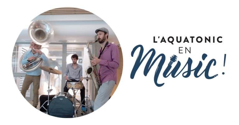 Concert à l'Aquatonic de Saint-Malo