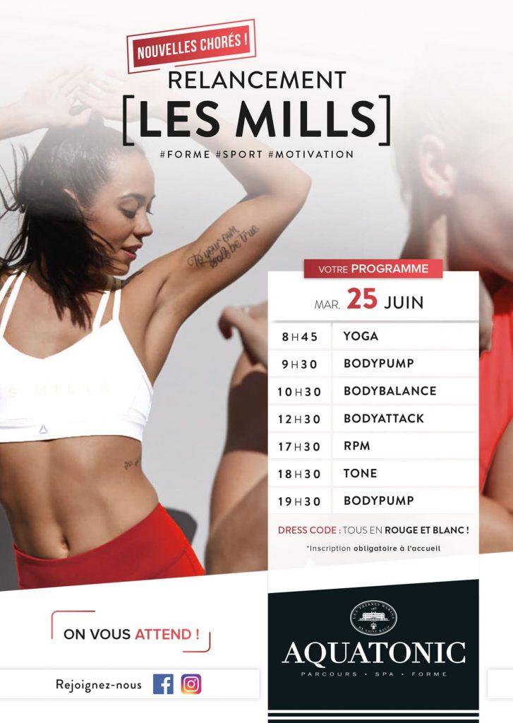 Les Mills le 25 juin à Rennes