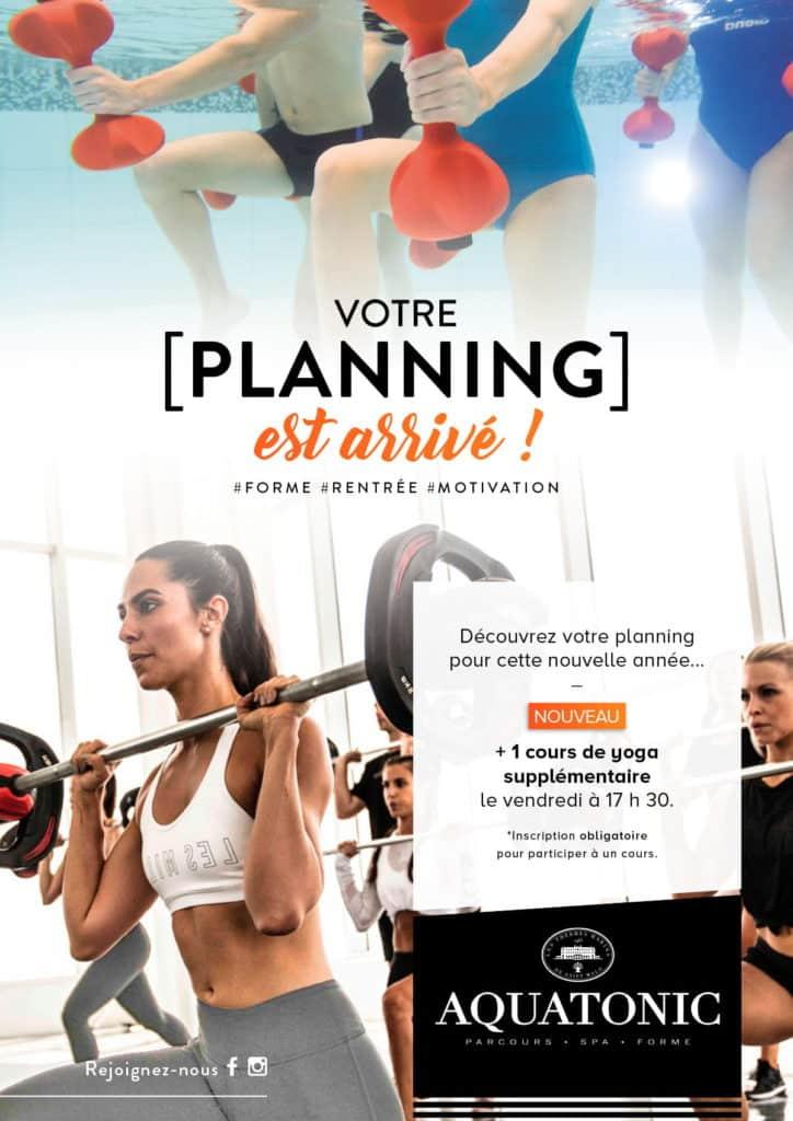 nouveau planning
