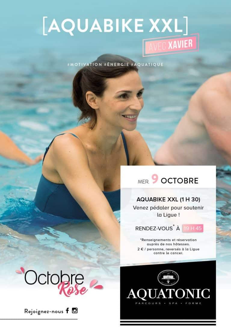Aquabike XXL le 9 octobre