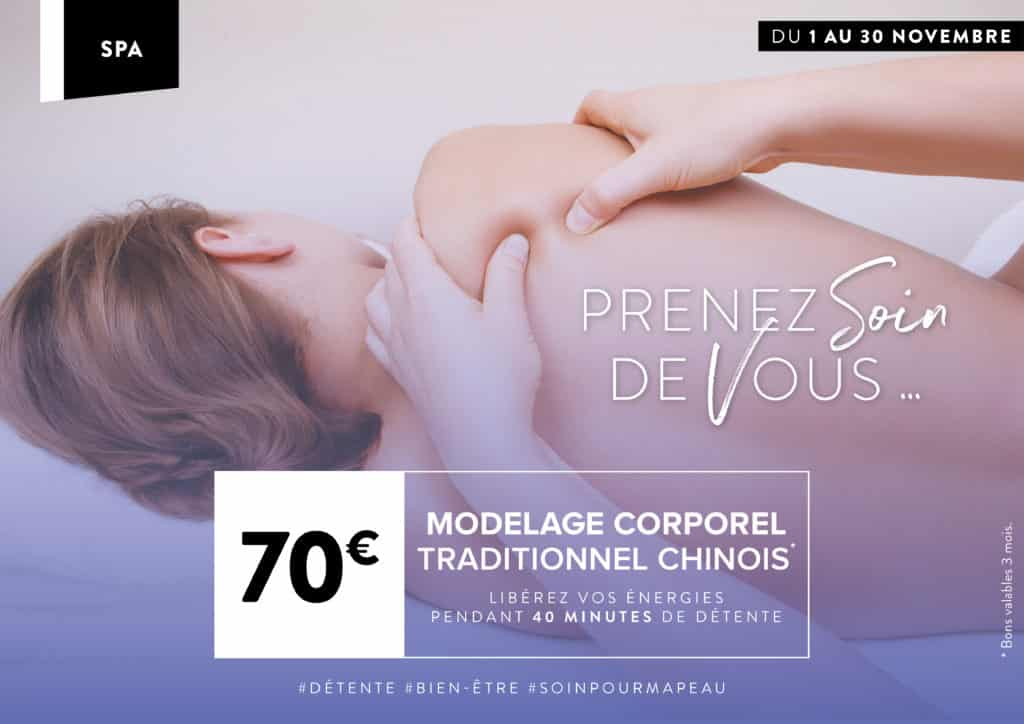 Modelage corps traditionnel chinois Rennes