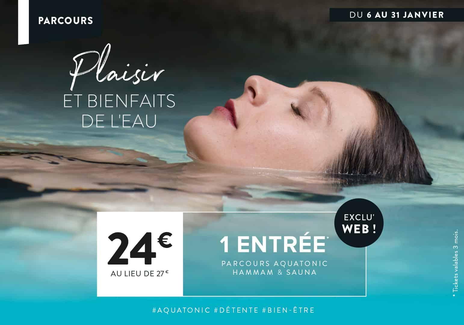 Offre Aquatonic à Rennes