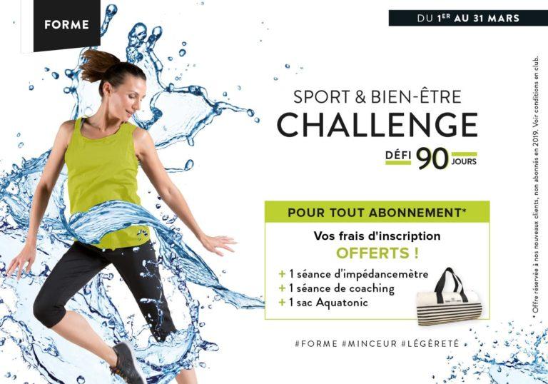 sport et bien-être challenge