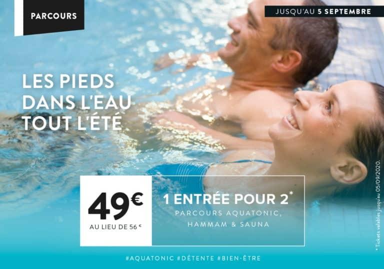 Promo Aquatonic à Rennes