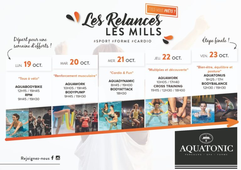 cours fitness Les Mills