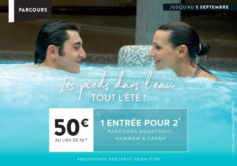 Parcours Aquatonic en Duo en Promo