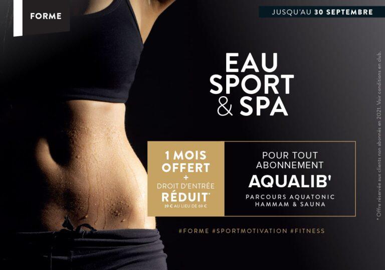 Abonnement Sport : 1 mois offert !