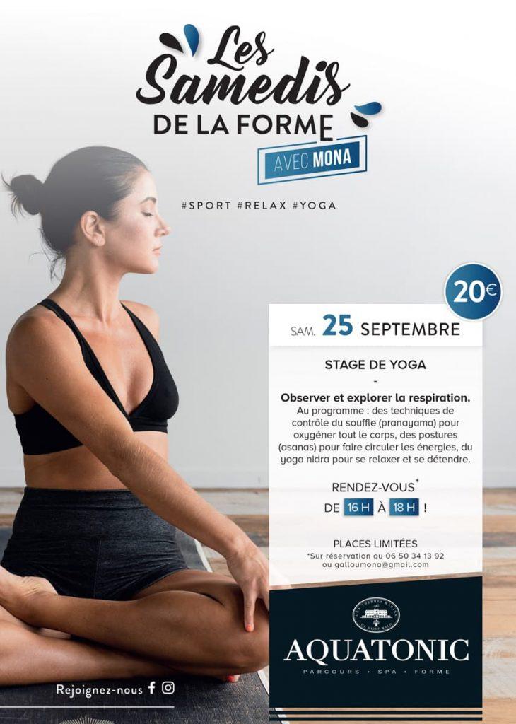 Stage de Yoga à Rennes le 25 septembre