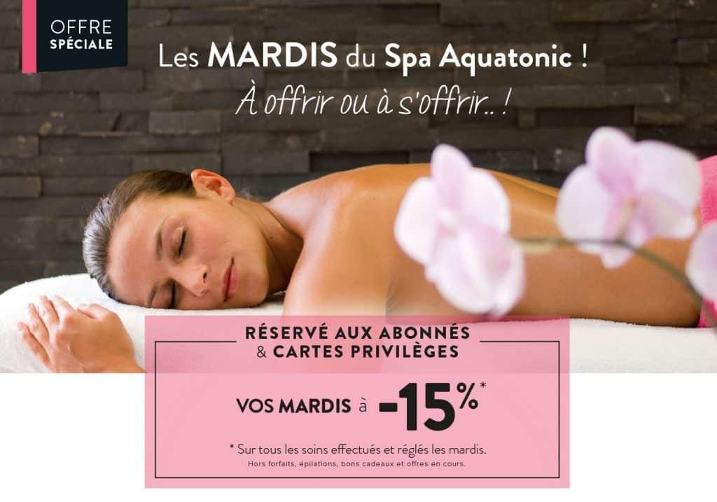 tarif reduit au spa les mardis à Nantes