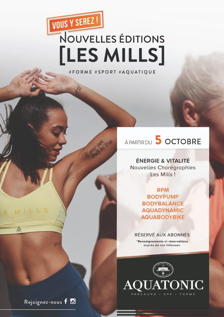 cours fitness Les Mills Nantes