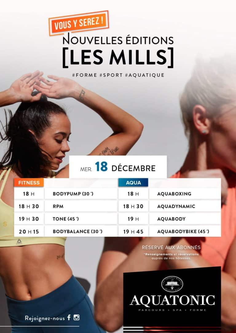 Nouvelles éditions Les Mills